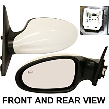 KOOL-VUE NEW POWER US Auto Parts For Nissan ALTIMA 98-99 SIDE MIRROR LEFT DRIVER