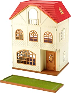 Sylvanian Families 2745 Dolls And Accessories-House With 3Stories, Multicolor