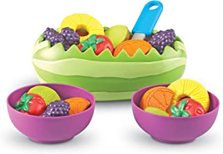 """Learning Resources LER9268 New Sprouts Fresh Fruit Salad Set (18 Piece) 5"""""""
