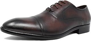 [神戸リベラル] ビジネスシューズ 本牛革 ストレートチップ 紳士靴 メンズ 内羽根 LB806