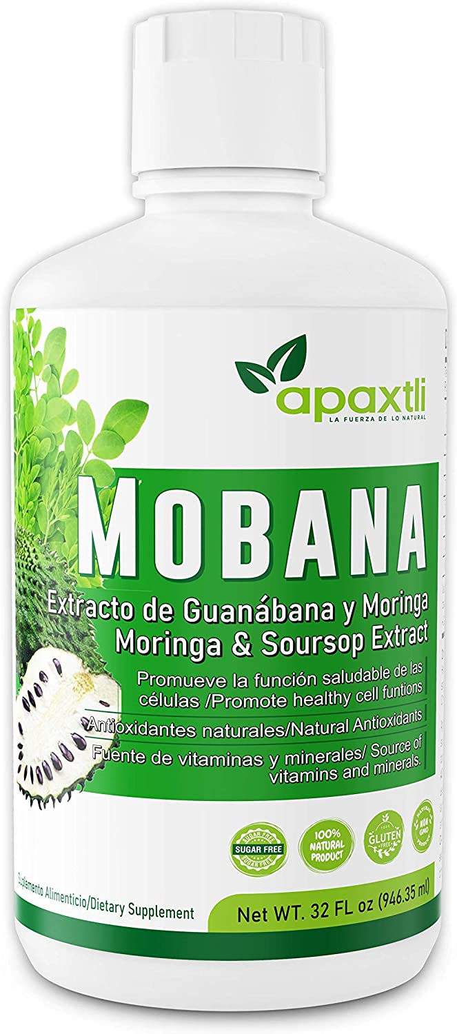 Mobana Super beauty product restock quality top Discount is also underway Liquid Dietary Supplement – Moringa Leaves and Gravi