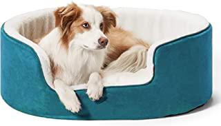 Petslover Warm Fleece Winter Beds Round Shape Reversible Ultra Soft Ethnic Designer (Export Quality) Bed with Cushion Pill...