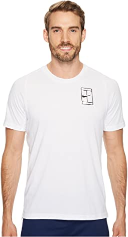Nike - Court Breathe Short Sleeve Tennis Top