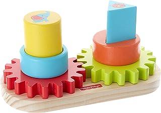 Multicolore avec piles Basics Fisher-Price Pyramide des Amis Sons et Lumi/ère DHW29