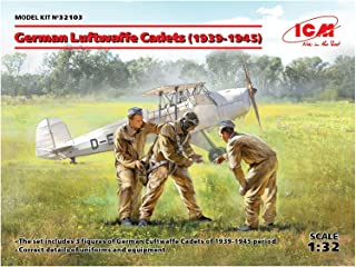 ICM ICM32103 1:32-German Luftwaffe Cadets (1939-1945)