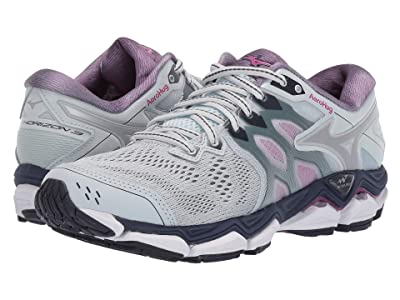 Mizuno Wave Horizon 3 (Quarry/Silver) Women