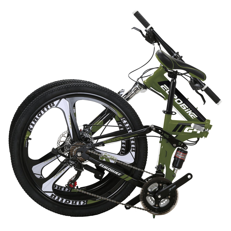 Eurobike Mountain Inches Suspension Folding
