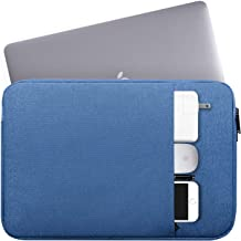 """14-15 Inch Waterproof Laptop Sleeve Bag Protective Case Compatible HP Chromebook 14/HP Stream 14,Acer Aspire 1 14""""/Acer Swift 3,ASUS Dell Lenovo Toshiba LG Samsung Acer Chromebook 14 Notebook Bag,Blue"""