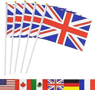 miniature union jack flags