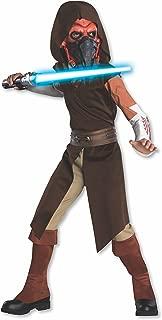 Rubies Star Wars Clone Wars Child's Deluxe Plo Koon Costume and Mask, Medium
