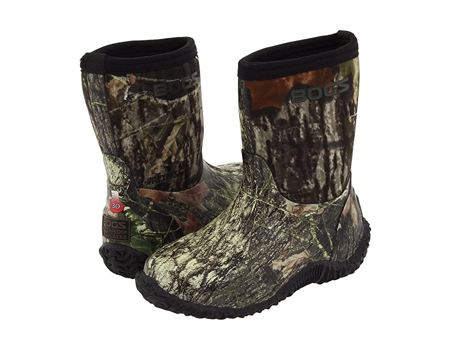 Bogs Kids Classic Mid No Handle (Toddler/Little Kid/Big Kid) (Mossy Oak) Boys Shoes