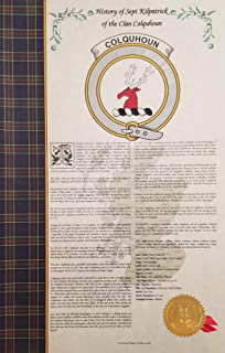 Boswell of the Clan Boswell - Scottish Clan & Sept 11x17 & History Print - Tartan, Buckle, Crest, Genealogy, Family Tree Research