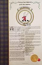 Robb of the Clan MacFarlane - Scottish Clan & Sept 11x17 & History Print - Tartan, Buckle, Crest, Genealogy, Family Tree Research