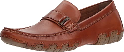 Kenneth Cole REACTION Hommes's Later Driver B Loafer, Brandy, 8 M US