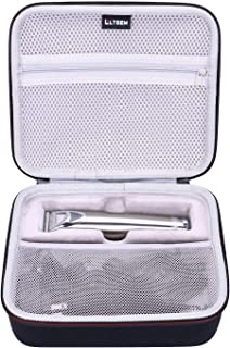 LTGEM EVA Hard Case for Wahl Clipper Stainless Steel Lithium Ion Plus Beard Trimmers Hair Clippers Shavers 9818 - Travel P...