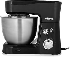 Tristar MX-4830 Keukenmachine – 3.5 Liter inhoud – Inclusief 3 deeghaken, Zwart