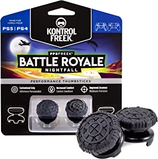 KontrolFreek FPS Freek Battle Royale Nightfall for PlayStation 4 (PS4) and PlayStation 5 (PS5) | Performance Thumbsticks |...