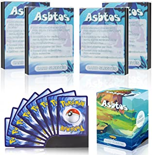 [ 2021 Upgraded ] Asbtos 200 Soft Trading Card Proctective Sleeves, Standard Size Penny Sleeve, Trading Card Sleeves for P...