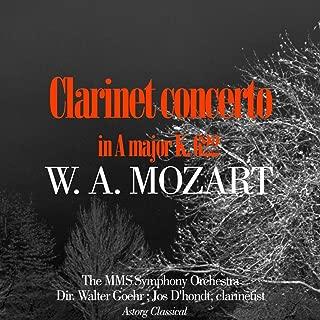 Mozart : Clarinet concerto in A major K. 622