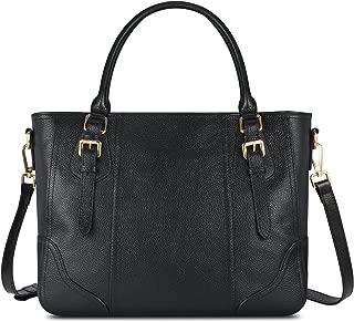 Best perlina black leather handbag Reviews