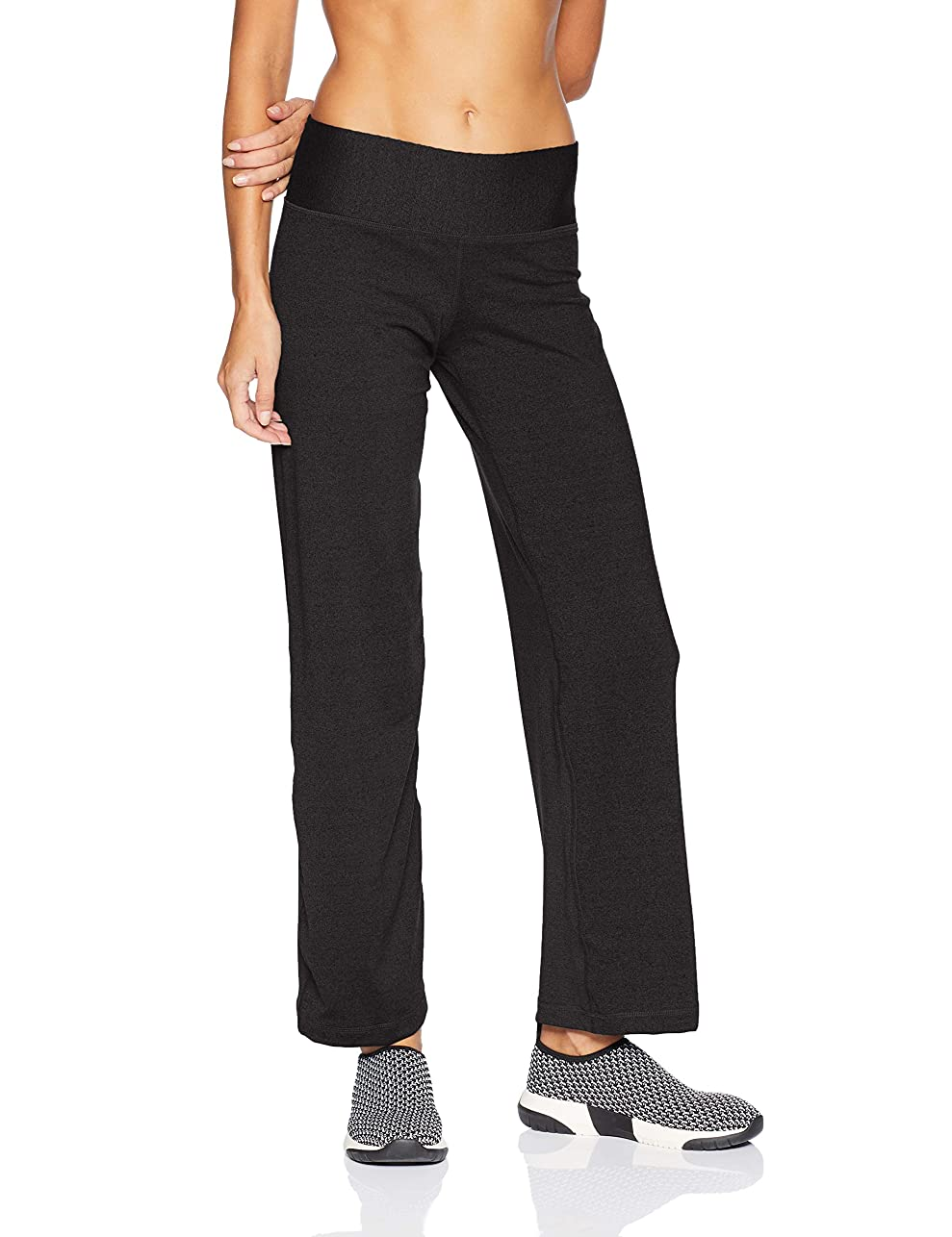 ピッチ威するストリップChampion Women's Absolute Semi-Fit Pant with SmoothTec Waistband, Black, XLS