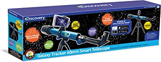 Discovery Kids Galaxy Tracker Smart Telescope,STEM Activity Science Kit
