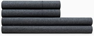 Calvin Klein Home Modern Cotton Body King Fitted Sheet, Charcoal