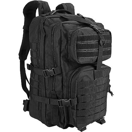 ProCase バックパック, 40L 大容量リュックサック 3日間のアウトドアに対応 軍事ファン向け -ブラック