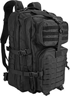 ProCase Tactical Backpack 42L Large Rucksack 3 Day Outdoor Military Army Assault Pack Go Bag Backpacks -Black