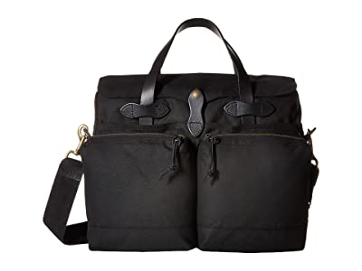 Filson 24 Hour Tin Briefcase (Black) Briefcase Bags