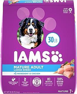 IAMS PROACTIVE HEALTH Adult Dry Dog Food - Mature (5+) - Large Breed, 13.6kg Bag