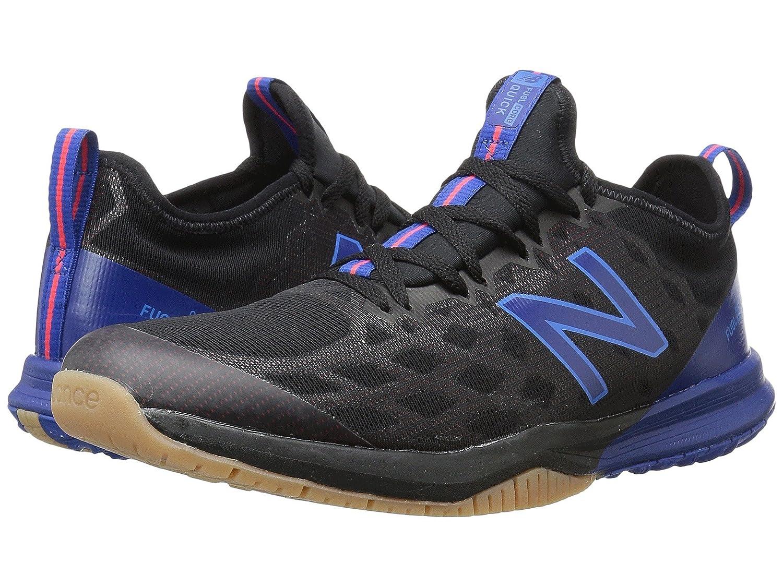 (ニューバランス) New Balance メンズランニングシューズ?スニーカー?靴 MXQIKv3 Black/Energy Red ブラック/エナジー レッド 11 (29cm) D