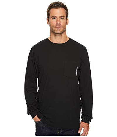 Timberland PRO Base Plate Blended Long Sleeve T-Shirt (Jet Black) Men