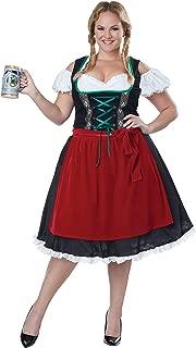 Women's Oktoberfest Fraulein Plus Size Costume