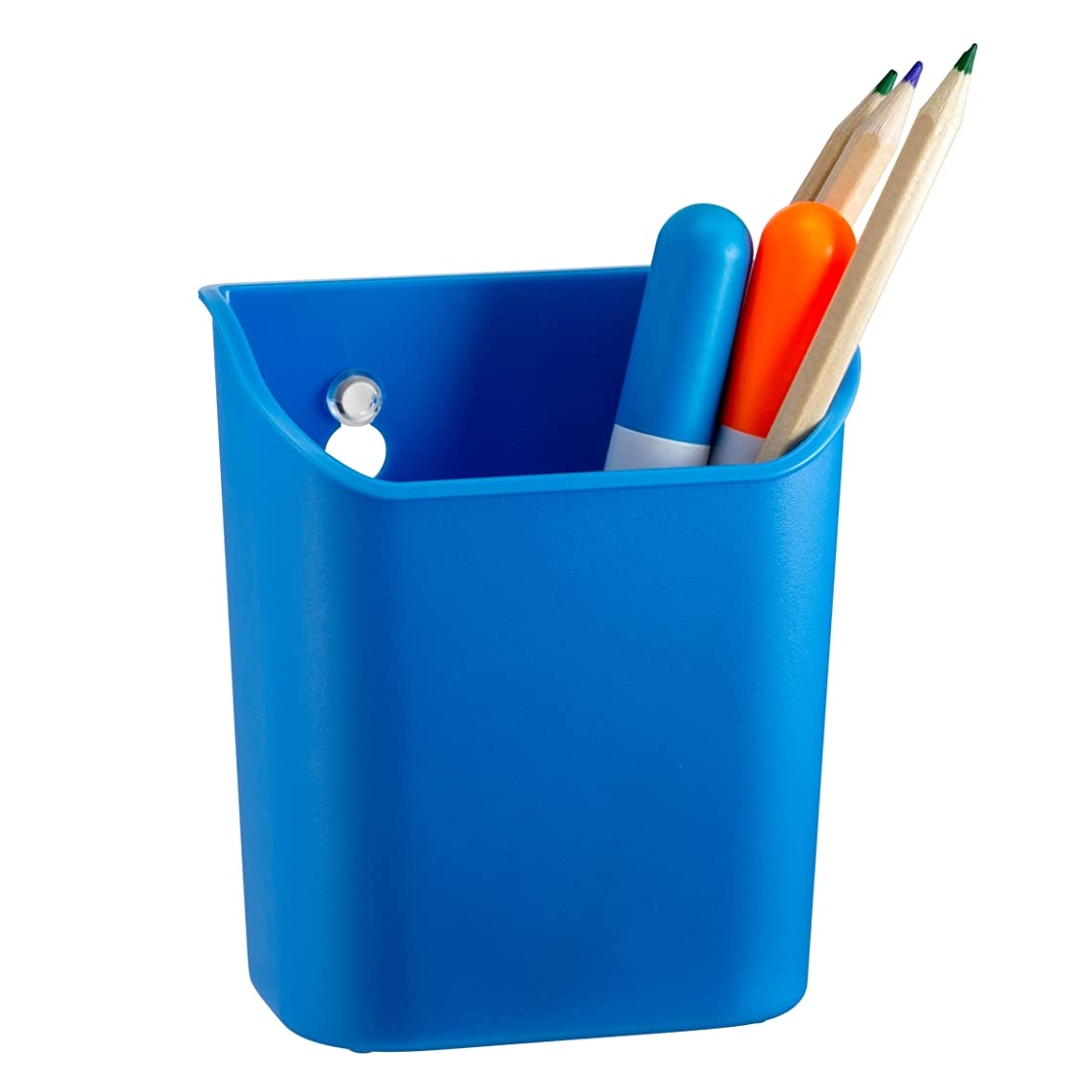 Officemate Octoorg Pencil Cup with Suction Cups, Blue (92570)