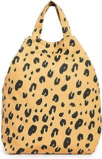 BAGGU Baggu Enten-Tasche aus Segeltuch, für den täglichen Gebrauch, geräumig und geräumig, leopard Gelb - 7-42377-36396-7-AMZ