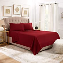 Empyrean Bedding Premium 4-Piece Bed Sheet & Pillow Case Set - Luxurious & Soft Twin (Single) Size Linen, Extra Deep Pocke...