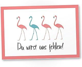 No Drama lustig Spruch Lama rosa Schild Postereck Retro Plakat Poster 2783