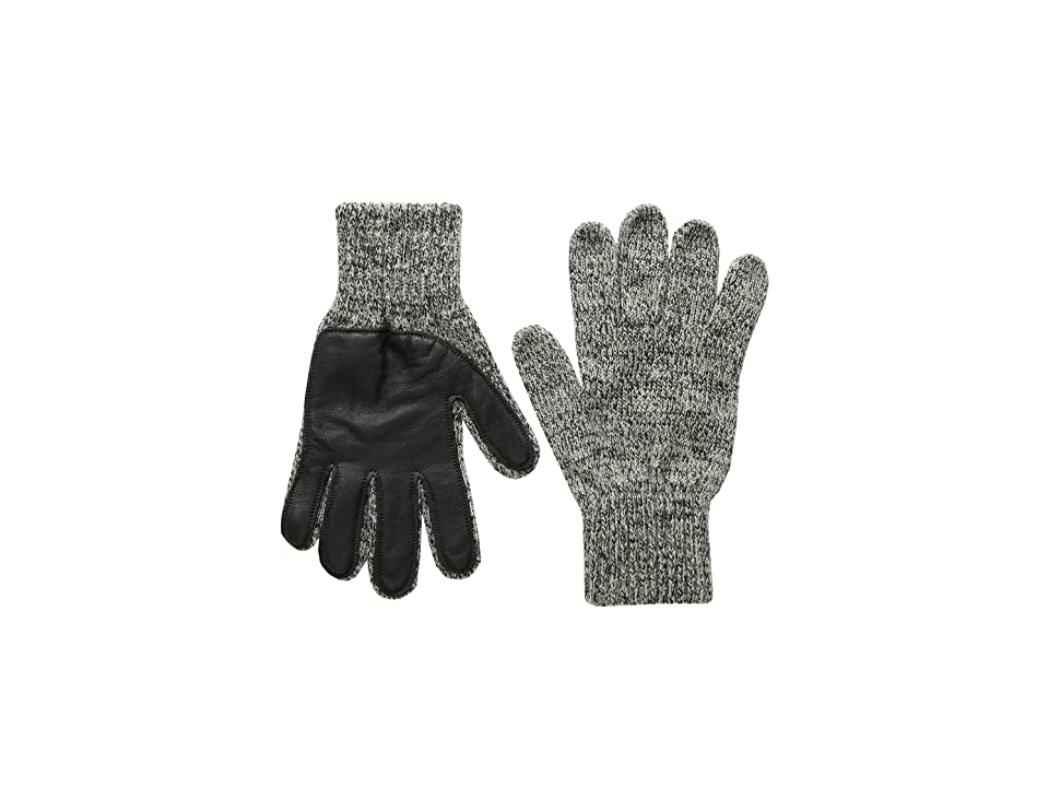 United By Blue Leather Palm Gloves (Charcoal) Extreme Cold Weather Gloves