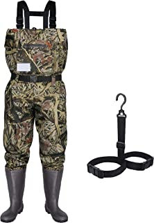 RUNCL Chest Waders with Boots, Fishing Waders for Men &...