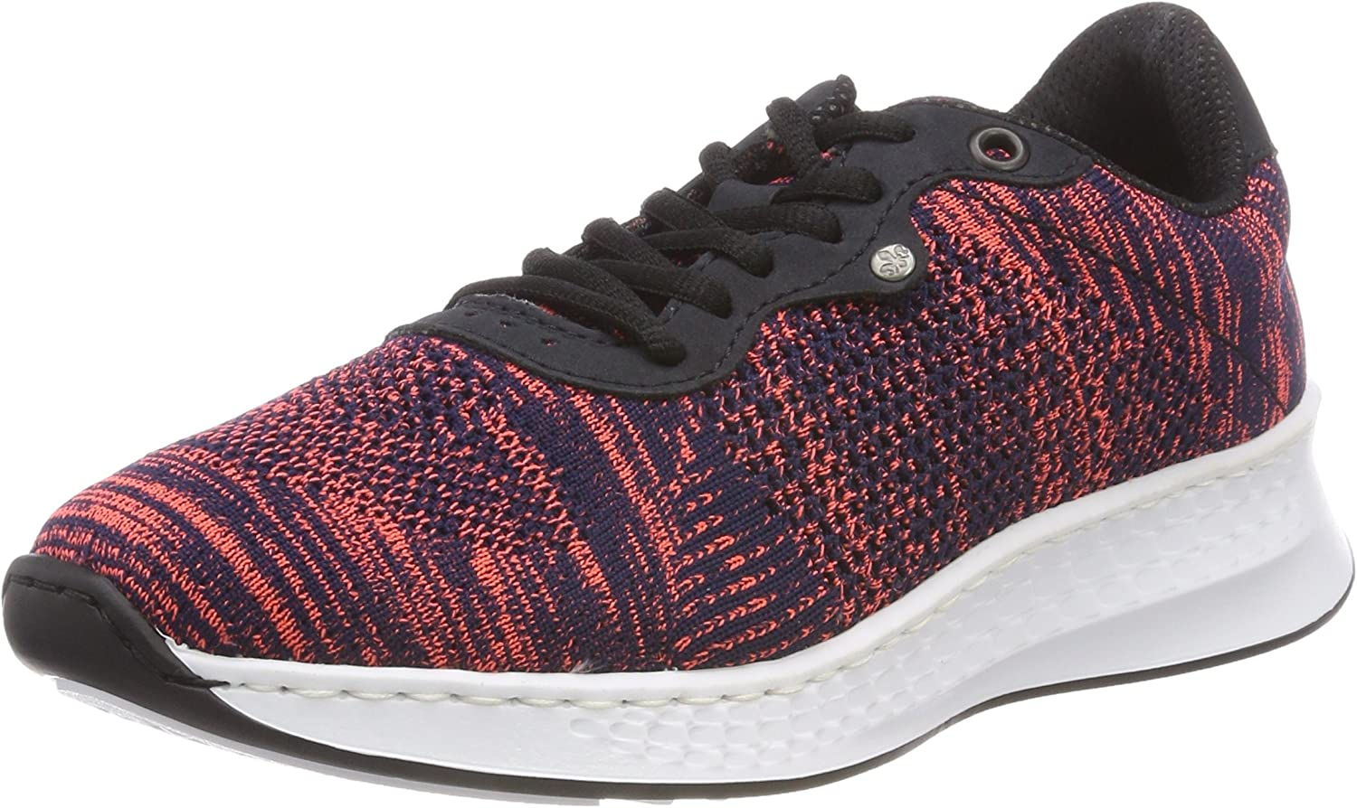 Rieker N5605-90 Navy (Textile) Womens Trainers