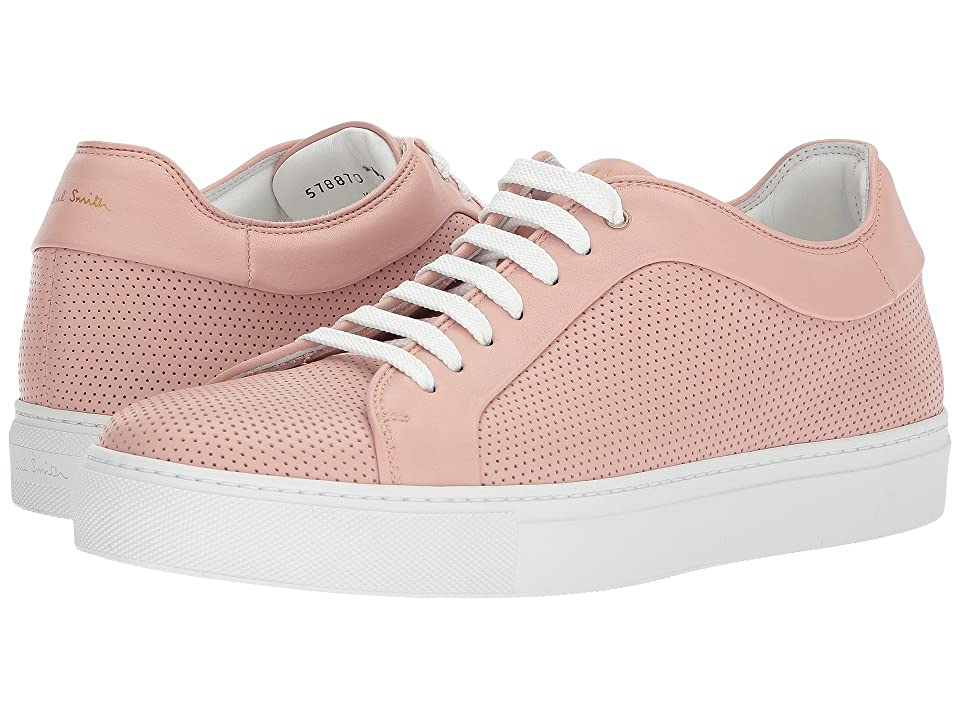 Paul Smith Basso Sneaker (Pink Perforated) Men