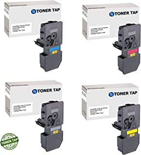 Toner Tap Compatible Replacement for Kyocera ECOSYS P5026cdn P5026cdw M5526cdn M5526cdw (TK-5242K, TK-5242C, TK-5242M, TK-5242Y) (4 PACK, KCMY)