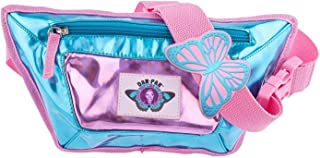 Dan-Pak COTTON CANDY FLASK FANNY PACK BY HYDRATION WAIST PACK BLUE AND PINK
