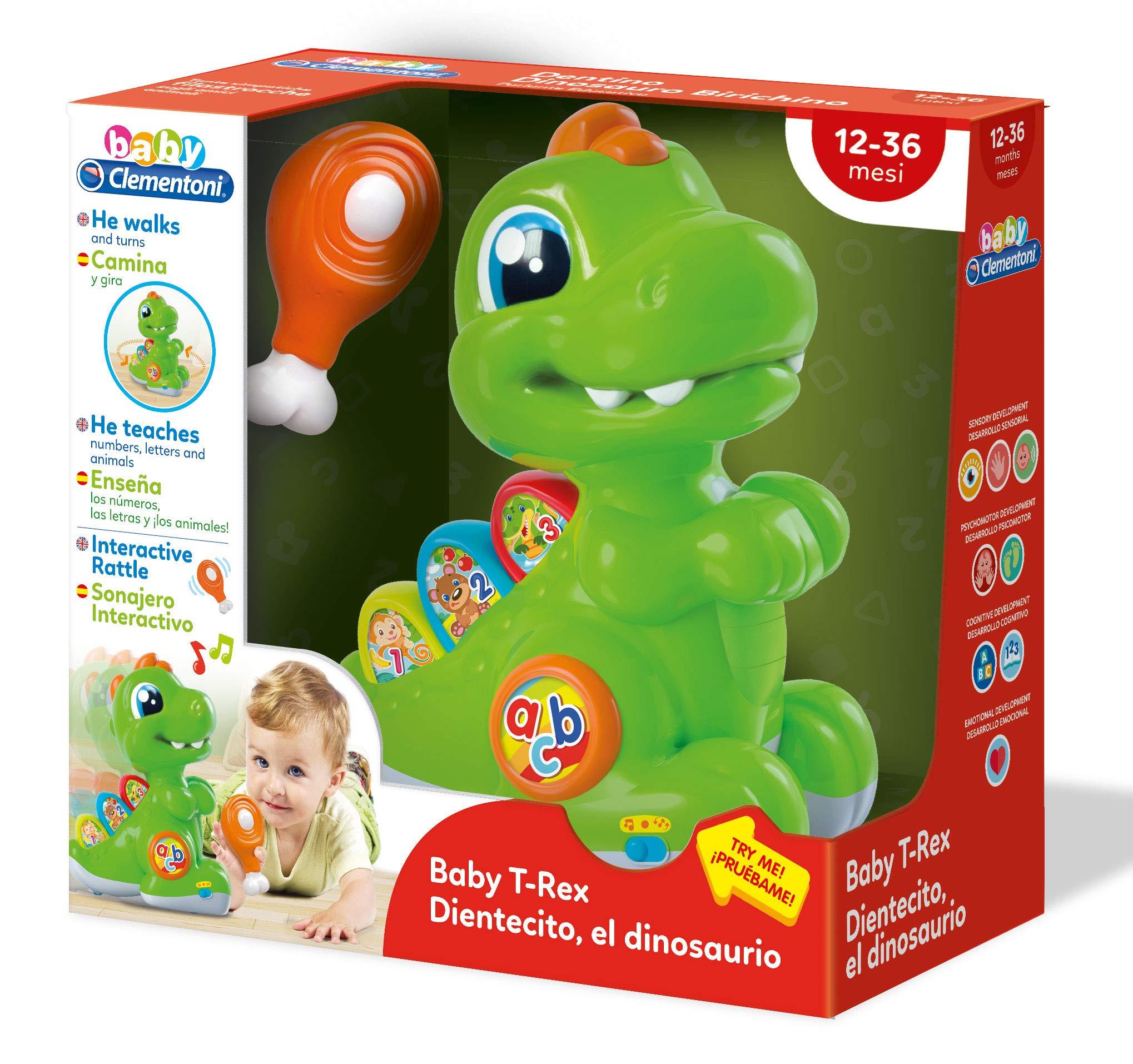 Clementoni - Baby Dientecito, Multicolor (Clementoni Spain 61602 ...