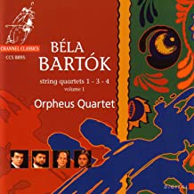 Bartok: String Quartets 1 - 3 - 4 Vol. 1