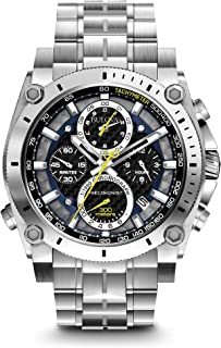 Men's 47mm Precisionist Stainless Steel Chronograph Watch