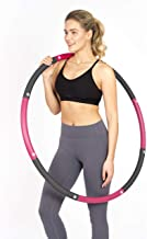 HEALTHYMODELLIFE Exercise Fitness Hoop by PINC Active - Easy to Spin, Premium Quality and Soft Padding Weighted Hoop…