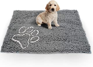 Dog Mat. Dog Door Mat. Snuffle Mat. Large Size. Non Slip Mat Stays in Place. Absorbent Microfibre Soaks up Water and Mud to Keep Your House Clean. Pet Feeding Mat