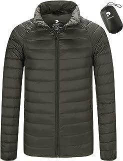Men's Winter Slim Packable Down Coats Lightweight Puffer Jacket NT0905